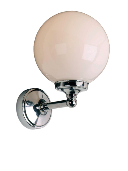 Lefroy Brooks Classic globe bracket wall light  LB4000
