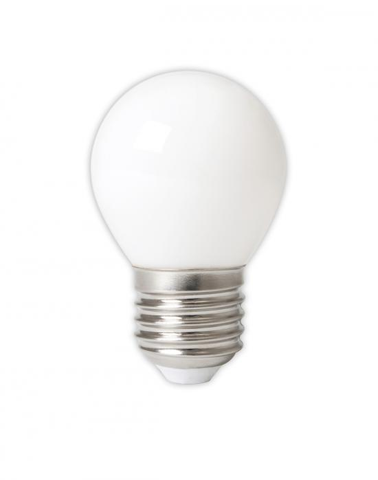 LED filament golf ball bulb - E27