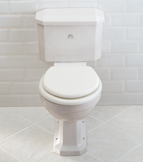 Lefroy Brooks Classic close coupled WC - Complete