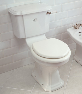 Lefroy Brooks Lissa Doon close coupled WC - Complete