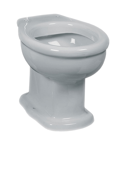 Lefroy Brooks La Chapelle low or high level WC pan