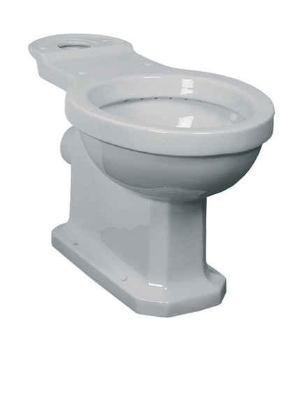 Lefroy Brooks Classic close coupled WC pan