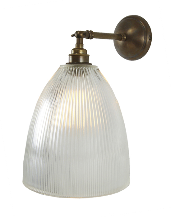 Articulated wall light - Prismatic bell