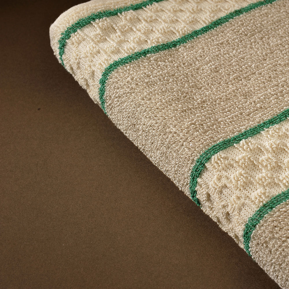 Roller Towel - Green Stripe