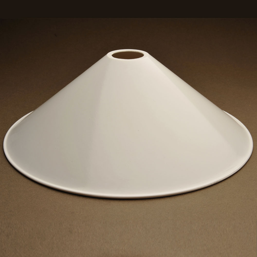Bakelite Coolie Shade in Off-White