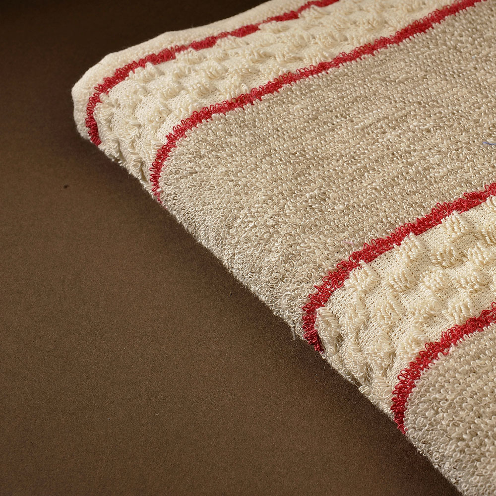 Roller Towel - Red Stripe