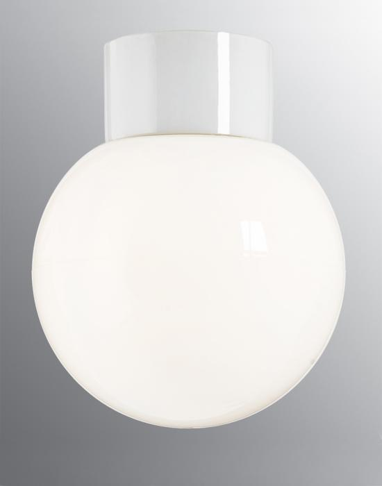 Classic globe ceramic wall / ceiling light