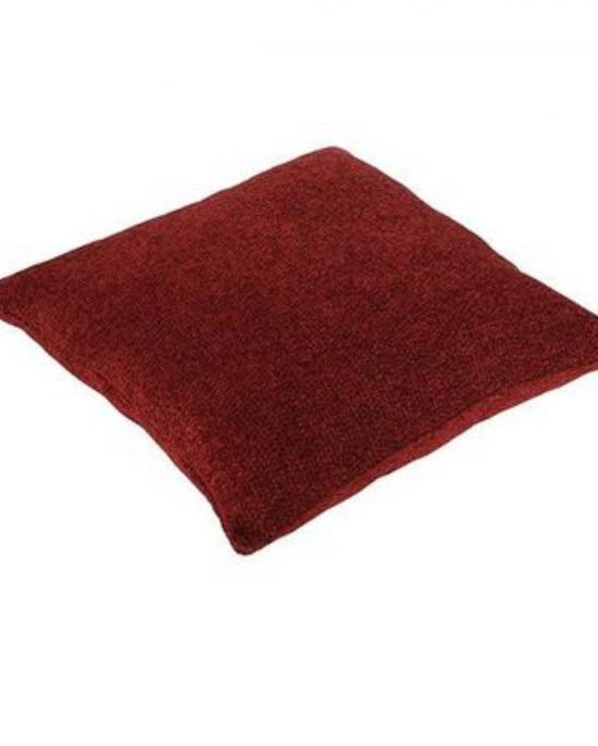 Chenille Cushion in Wine Colour