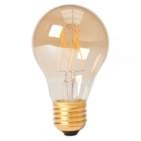 LED Filament Bulb - 4w E27 Standard Gold